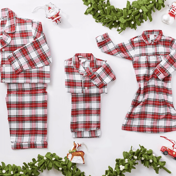 Morgan Plaid Family Pajama Holiday Collection