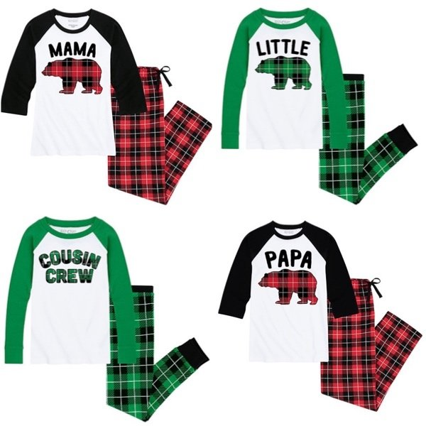 Buffalo Plaid Family Selfie PJs