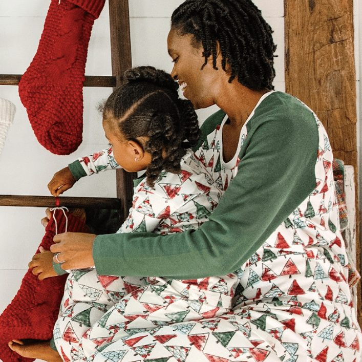 O Christmas Tree Organic Cotton Family Matching Holiday Pajamas