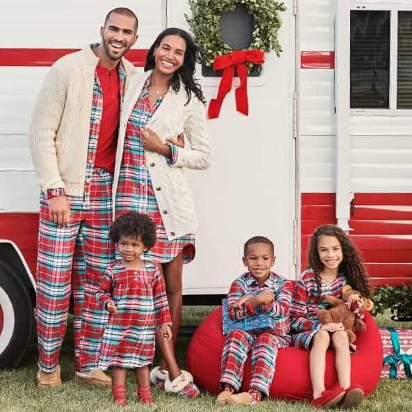 Plaid Family Holiday Pajamas