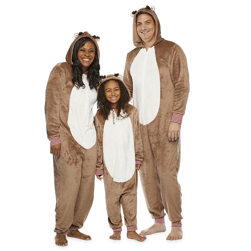 Family Matching Reindeer Onesies
