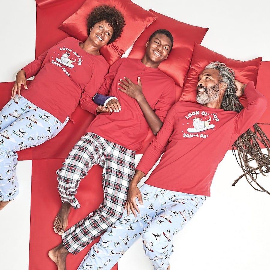 Santa Paws Family Matching Christmas Pajamas