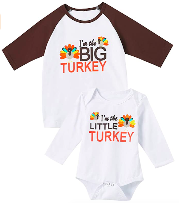 Thanksgiving Matching Sibling T-Shirts