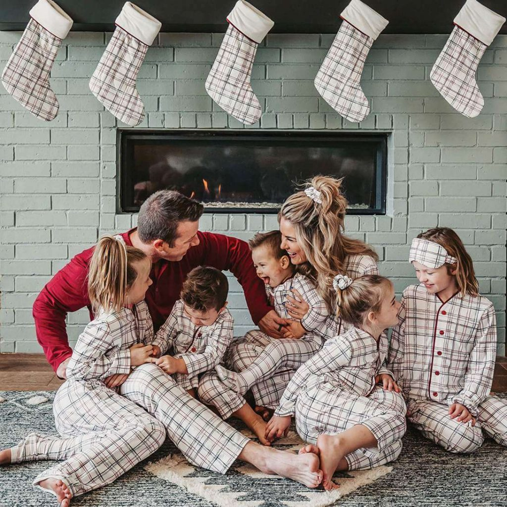 Cloud 9 Family Holiday Pajama Set