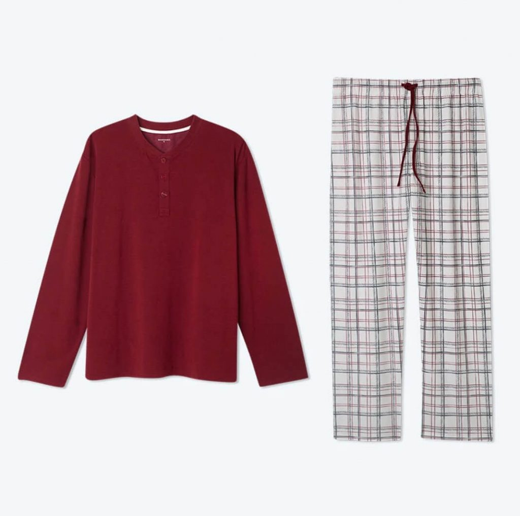 Cloud 9 Men's Holiday Pajama Set