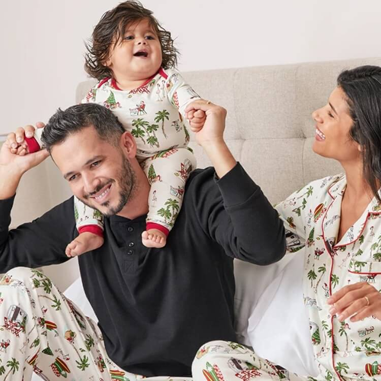 Warm Wishes Family Holiday Pajamas