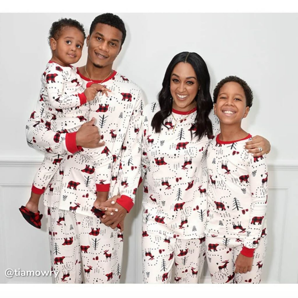 Winter Forest Family Holiday Pajamas Tia Mowry