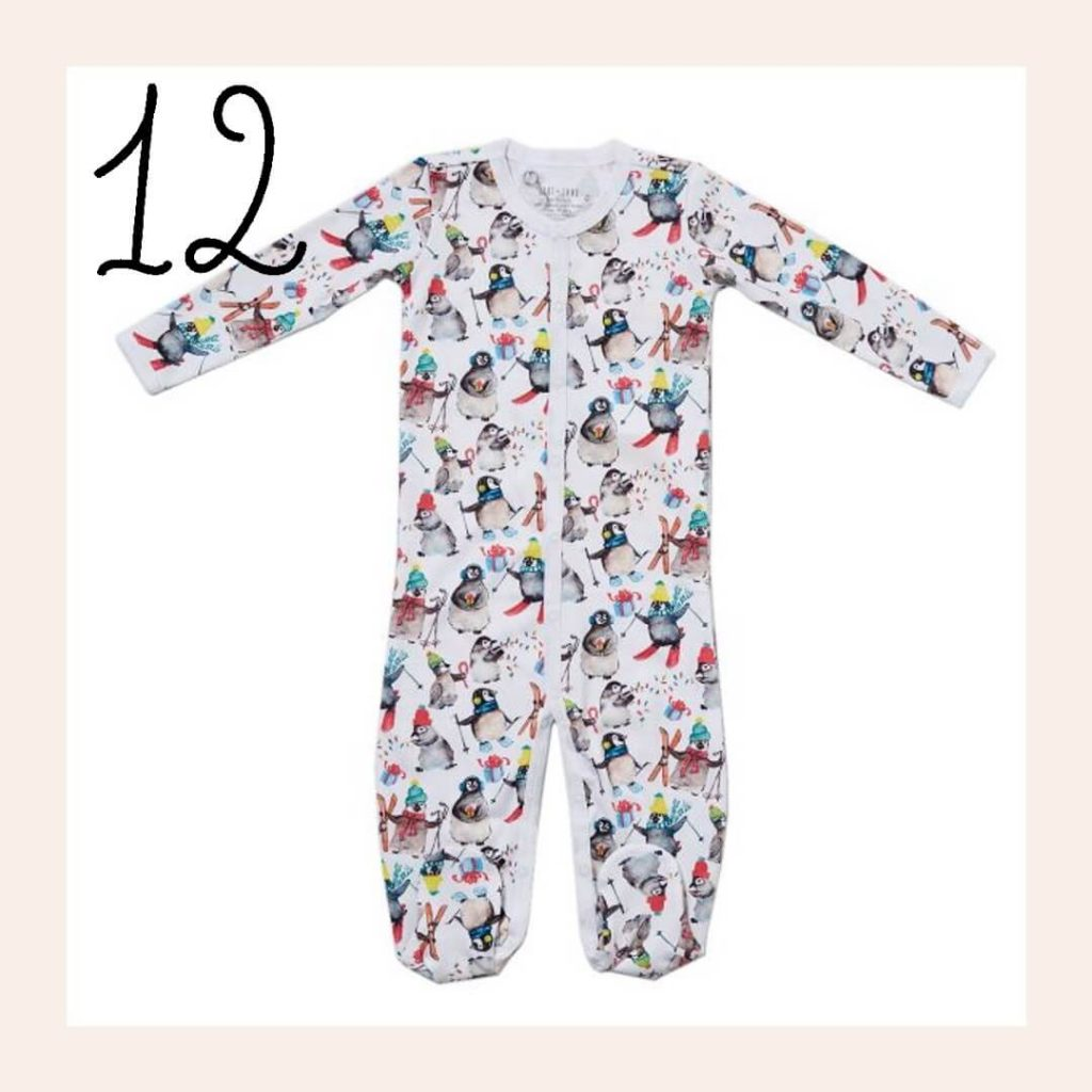 Winter Penguin Matching Family Holiday Pajamas