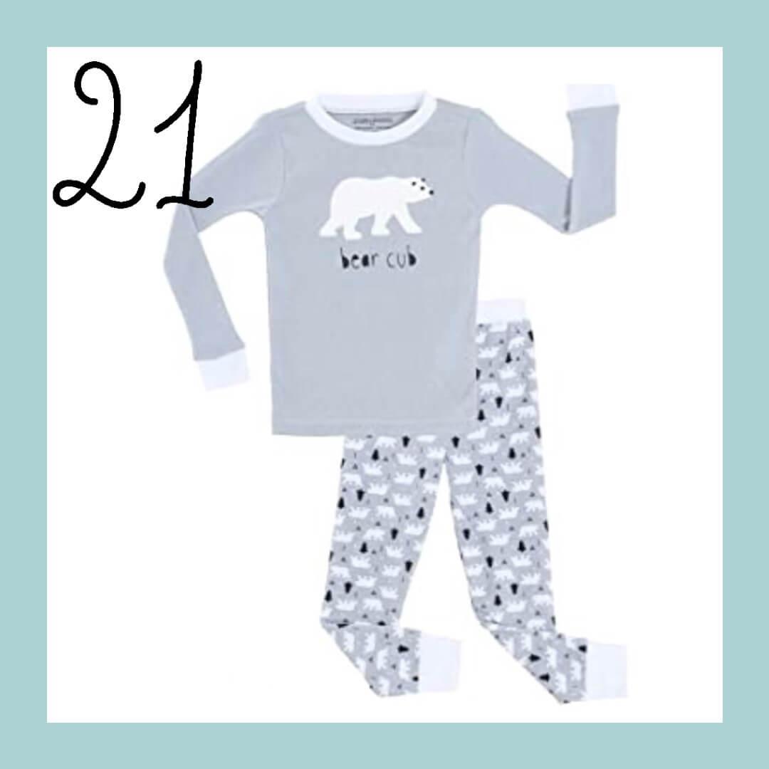 Polar Bear Family Matching Holiday Pajamas