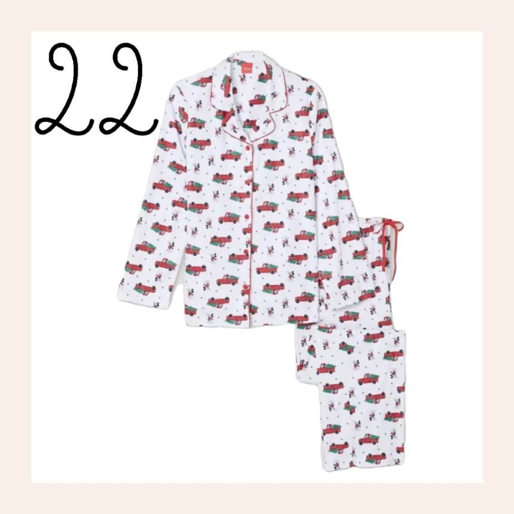 Mickey Mouse Flannel Matching Family Pajamas