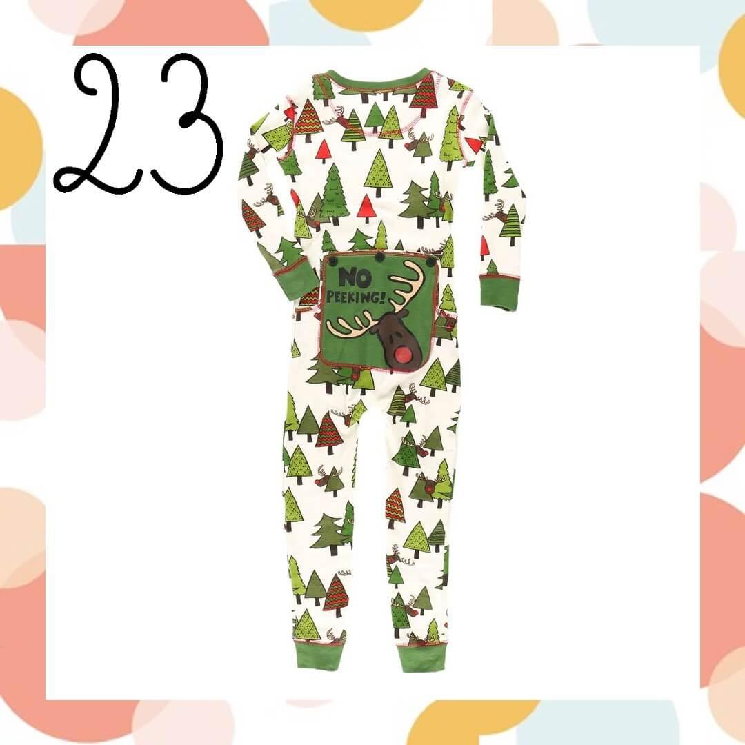No Peeking Onesie Flapjack Holiday Matching Family Pajamas