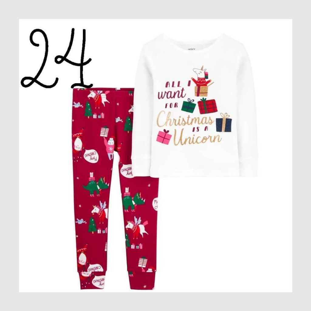 All I want for Christmas is a Unicorn Holiday Pajamas