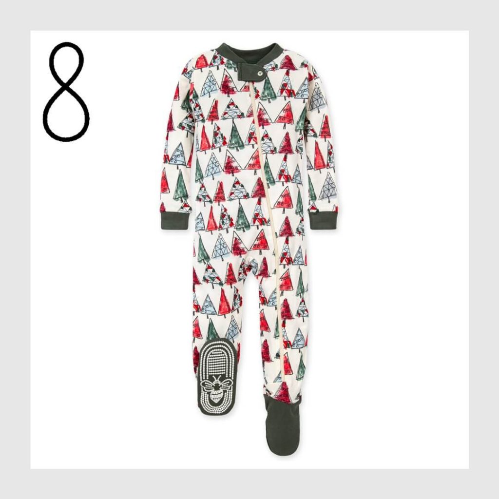Christmas Trees Organic Cotton Matching Family Holiday Pajamas