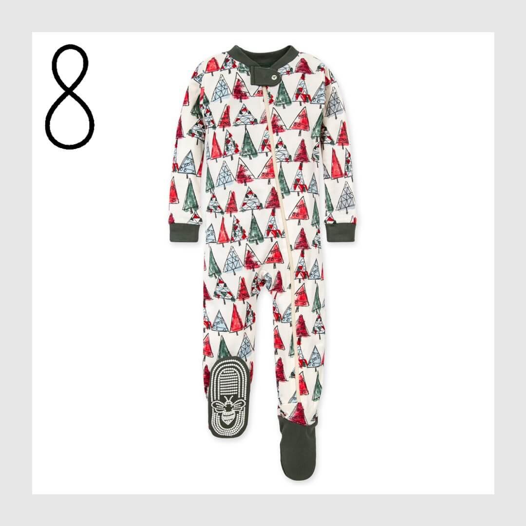 Christmas Trees Organic Cotton Matching Family Holiday Pajamas