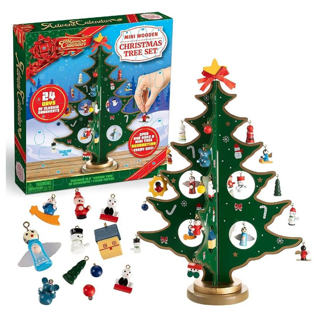Christmas Tree Ornaments Advent Calendar