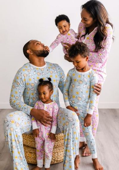 Family Matching Breakfast Buddies Pajamas