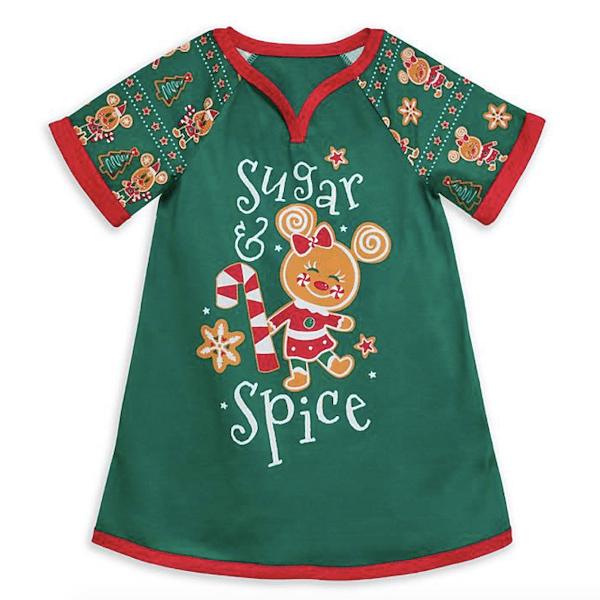 Minnie Mouse Holiday Nightgown