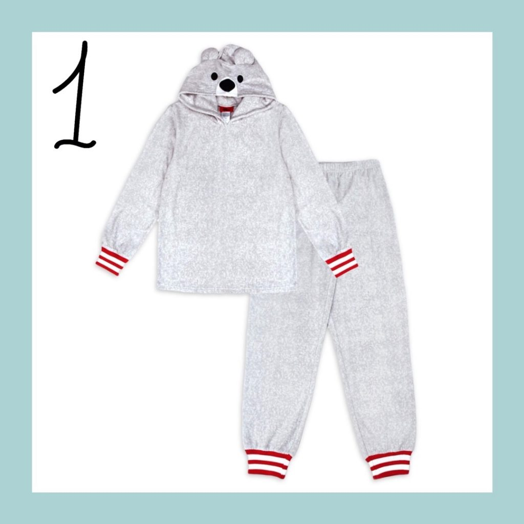 Polar Bear Matching Family Holiday Pajamas