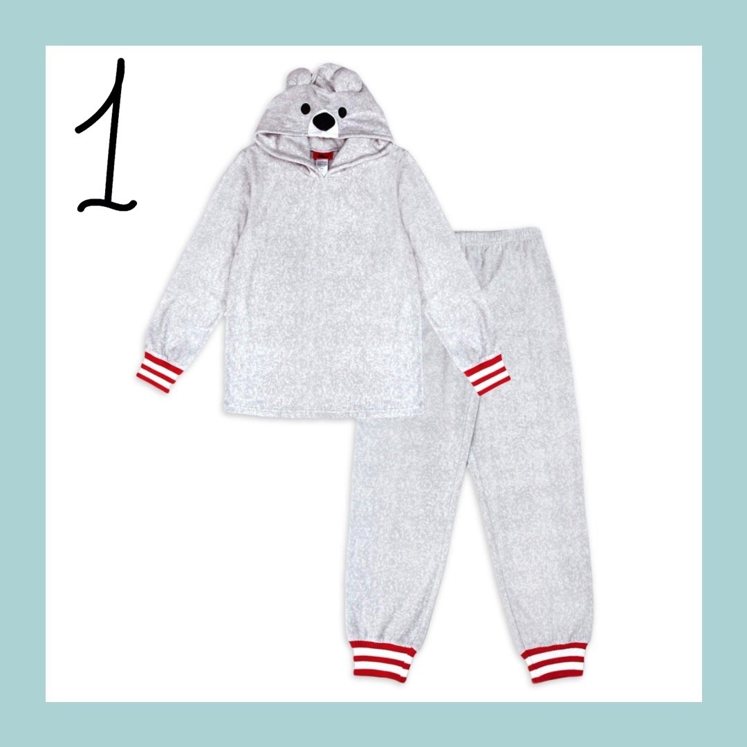 Polar Bear Matching Family Holiday Pajamas