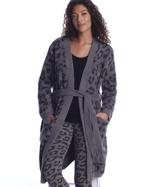 Mom's Barefoot Dreams CozyChic In the Wild Robe
