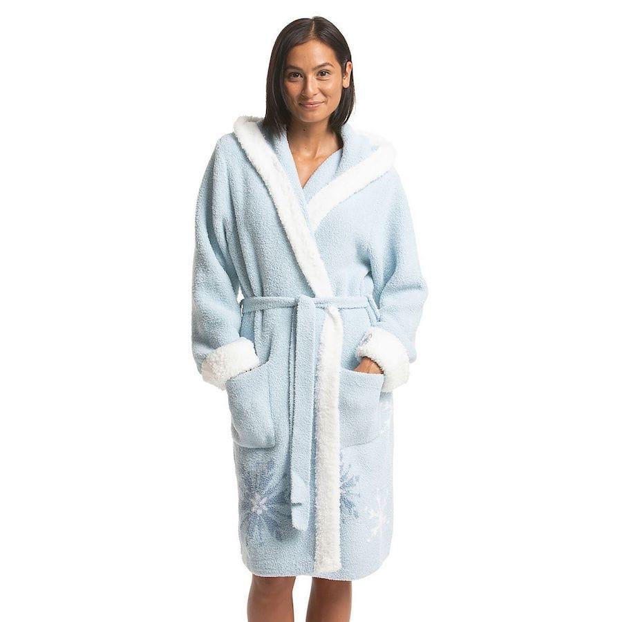 Mom's Disney's Frozen Barefoot Dreams Cozychic Snowflake Robe