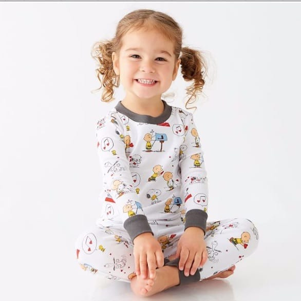 Family Matching Peanuts® Hearts Pajamas