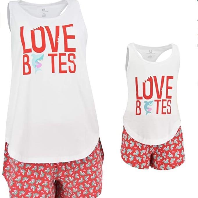 Love Bites Mommy & Me PJs