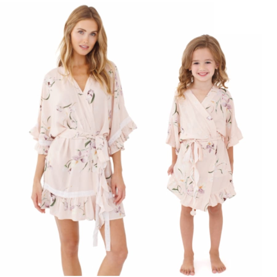 Mommy and Me Matching Flutter Robes