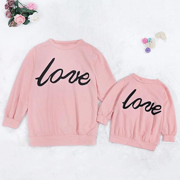 Matching Love Sweatshirts!