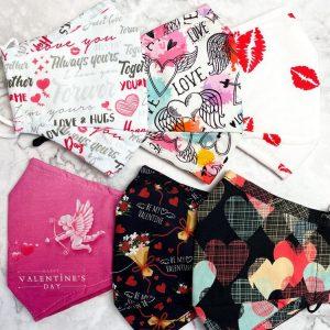 Valentines Day Masks