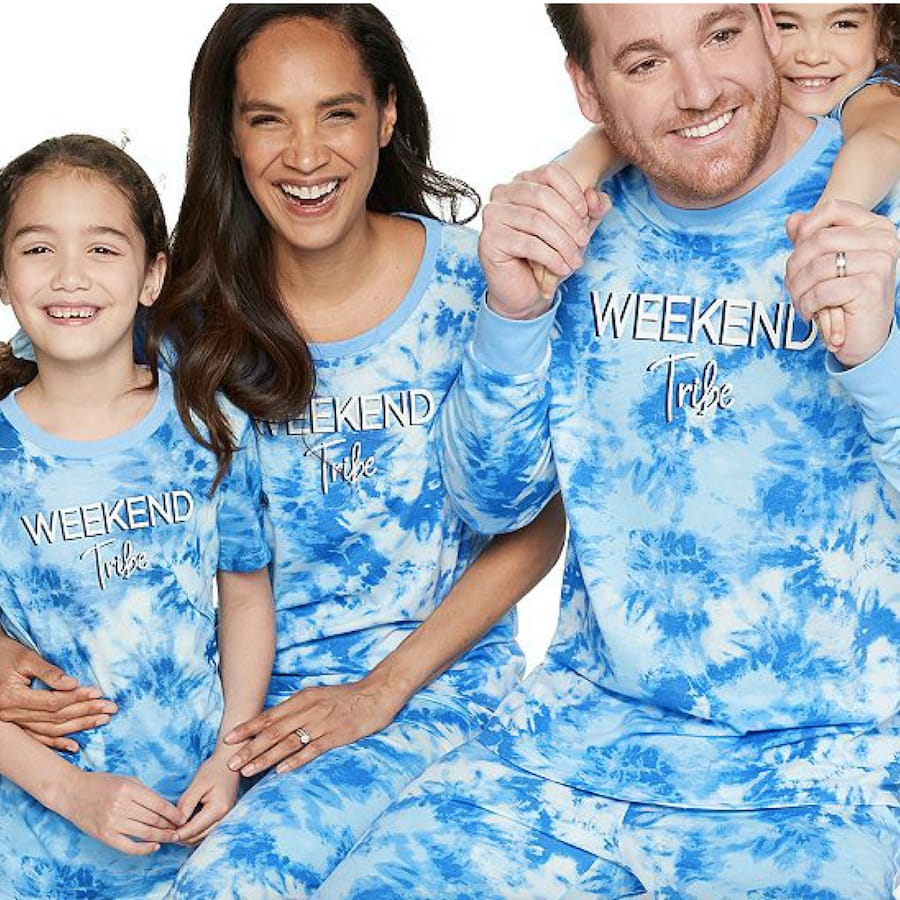 Jammies For Your Families® Tie-Dyed Pajama Collection