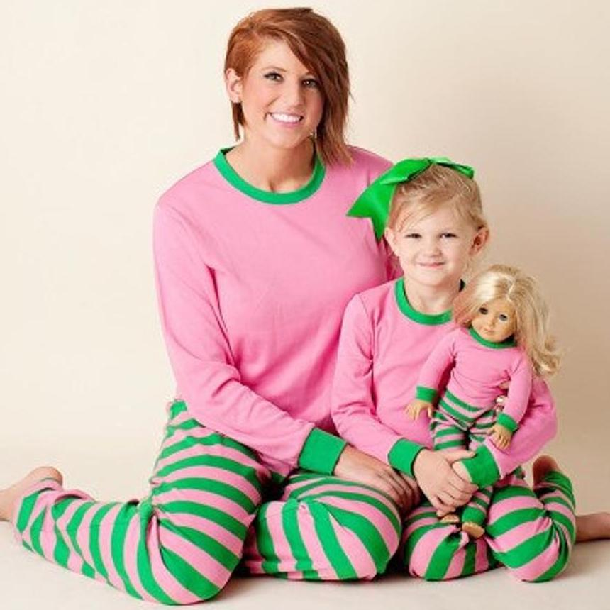 Matching Mommy & Me & Doll Pajamas