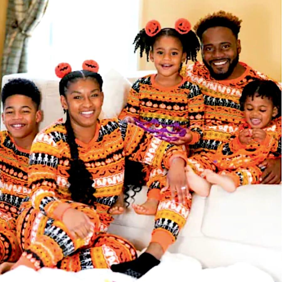 Family Matching Halloween Fairisle Pajama Collection