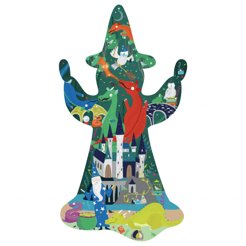 Wizard Shaped Puzzle