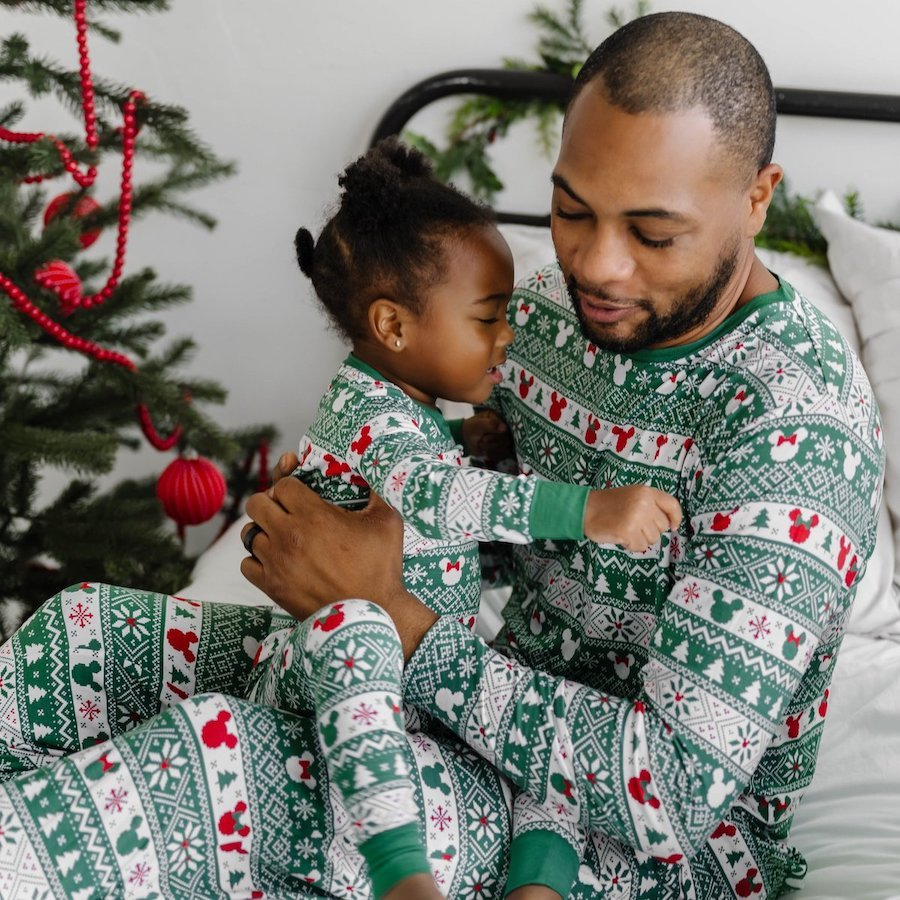 Family-Matching-Disney-Bamboo-Viscose-Christmas-Pajamas